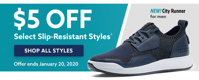 $5 off Footwear From Select Brands use code BLW725