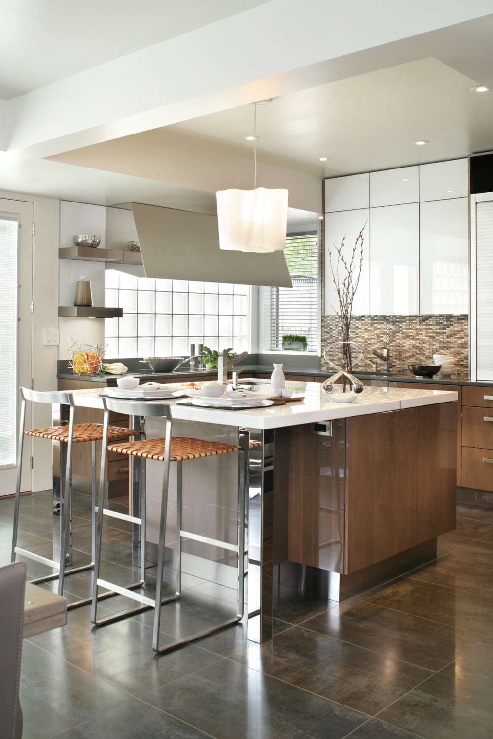 Contemporary Kitchen Design Bilotta Ny