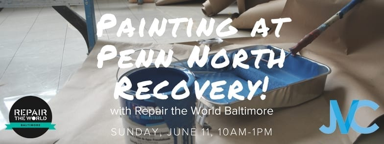 Event Registration   RTW Painting At Penn North Recovery. Join Repair The  World Baltimore ...