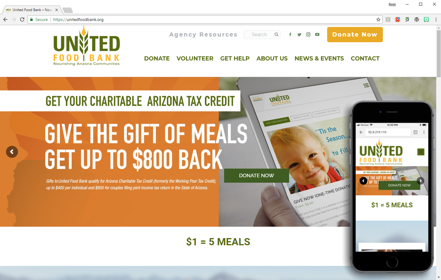 United-Food-Bank-Combo