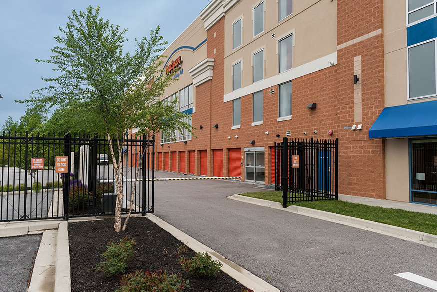 YourSpace Storage at Owings Mills - Exterior Self Storage Units in a Gated Facility