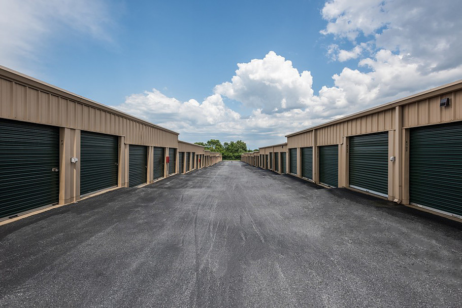 YourSpace Storage at Rolling Road in Windsor Mill, MD - Extra Wide Drive Aisles for Easy Moving
