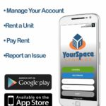 Download the New YourSpace Storage Mobile App!