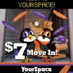 YourSpace Self Storage in Maryland September Rent Special