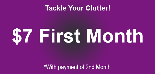 Tackle Your Clutter October Rent Promotion at YourSpace Storage