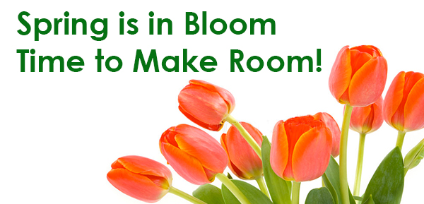 Spring is in Bloom Time to Make Room - YourSpace Storage in Maryland May Rent Special - $5.00 First Month Rent with Payment of Second Month