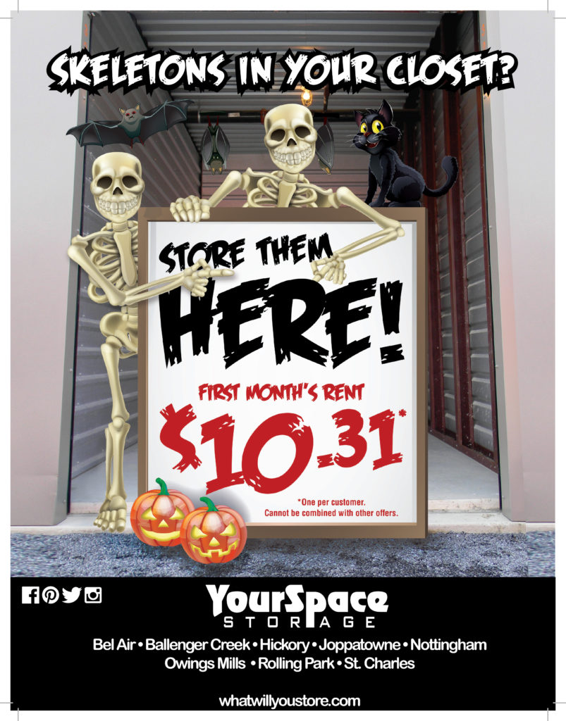 Skeletons In Your Closet Store Them Here Yourspace Storage