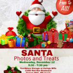 Free Photos with Santa at YourSpace Storage at Owings Mills