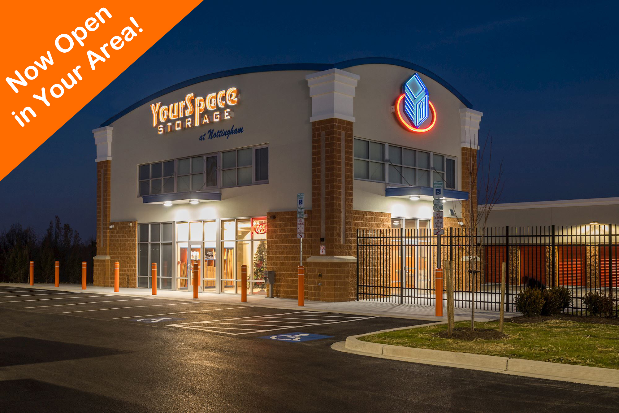 YourSpace Storage at Nottingham is now open in the Perry Hall, Rosedale, White Marsh, & Overlea Area