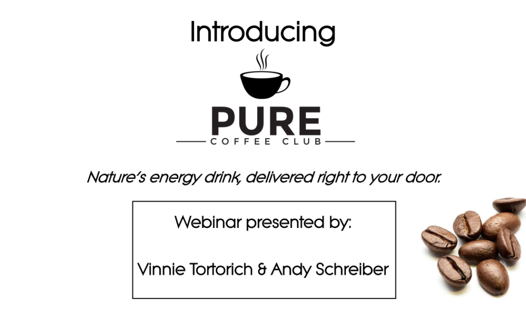 Pure Coffee Club Introduction Webinar