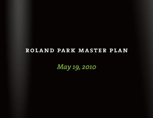 roland park master plan 2010