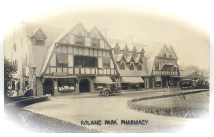 Then and Now: A Pictorial Journey through Roland Park History