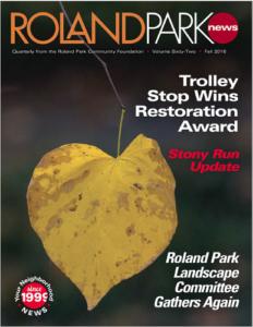Fall 2016 Roland Park News