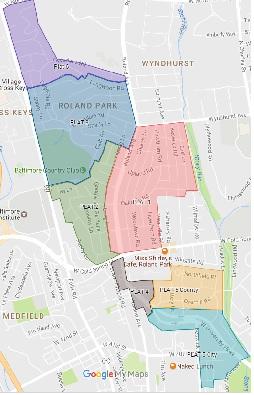 Roland Park Civic League Maps Paths