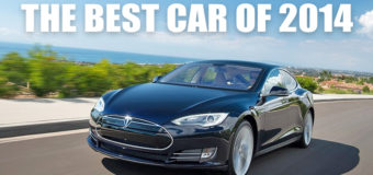 Tesla Model S Named Best Overall Car of the Year