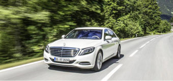 S 500 Mercedes: 1st Plug-In Hybrid with a Star-VIDEO