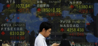 Asia shares edge up on brightening U.S. prospects, BOJ awaited