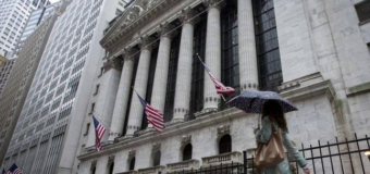US STOCKS-Wall St holds sharp gains; Fed to take patient approach on rates