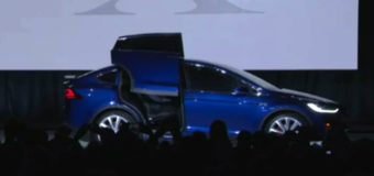 Tesla only made six Model X SUVs and Elon Musk took one for himself