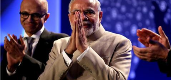 Modi urges Silicon Valley firms to invest in India