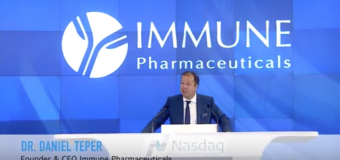 Immune Pharmaceuticals announces initiation of enrollment in clinical trial with Ceplene®