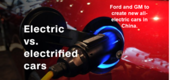 Ford to create new brand of electric cars in China, GM sells $5,000 electric car