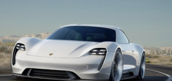 Porsche's gorgeous electric sports car looks to knock off Tesla's Model S in 2019