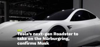Tesla's next-gen Roadster to take on the Nürburgring, confirms Musk
