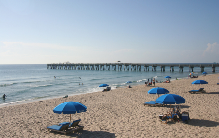Pier at Lake Worth