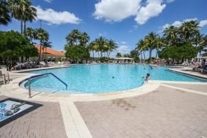 Bellaggio pool