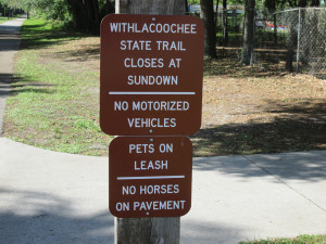 Citrus County, Hernando entrance.