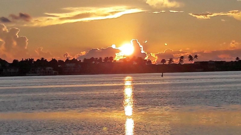 Sunrise in West Palm Beach