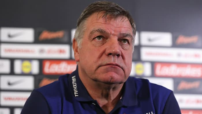 Deposed England manager Sam Allardyce