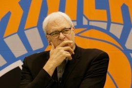 Knicks president Phil Jackson