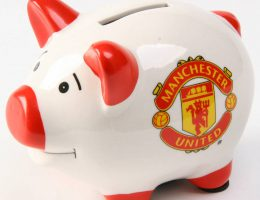 Manchester United Piggy Bank