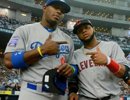 Dodgers and Indians streaks