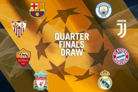 The Champions League quarterfinals are here!