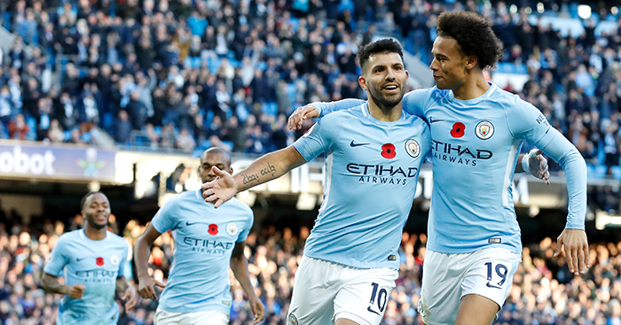 Man City wrap up the PL title today?