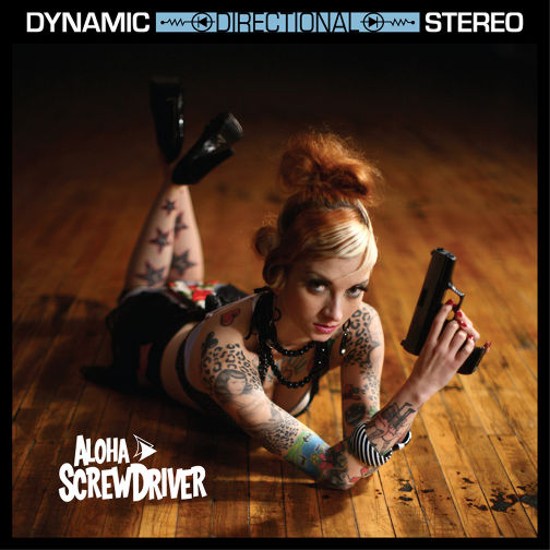Aloha Screwdriver CD cover