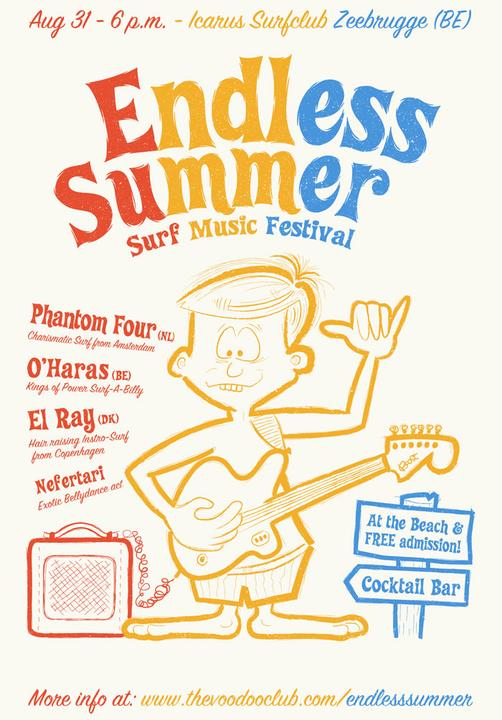 The Endless Summer Surf Music Festival 2013