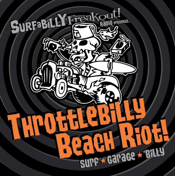 Throttlebilly Beach Riot CD Cover