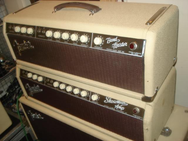 JJ Tube Set for Fender Bassman or Bandmaster Guitar Amplifier