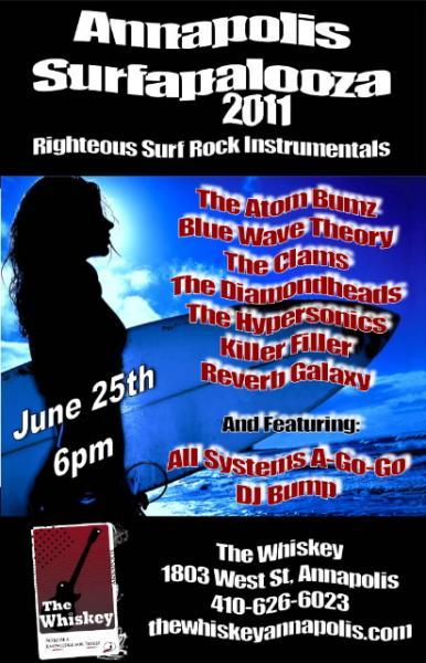 Surfapalooza II poster