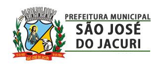 PREFEITURA MUNICIPAL DE SÃO JOSÉ DO JACURI