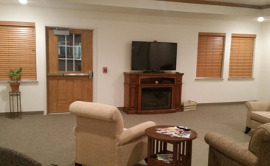 Caring Hands Assisted Living - TV Room