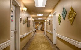 Seasons Assisted Living - Hallway