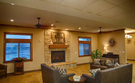 Seasons Assisted Living - Fireplace