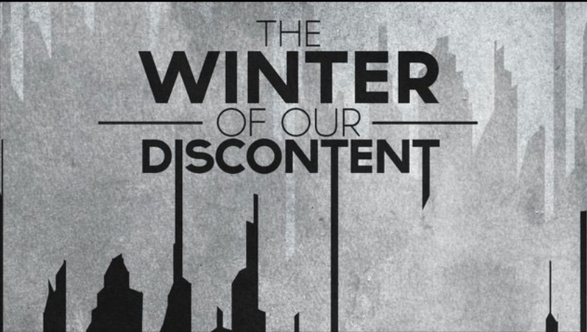 the winter of our discontent Winter of our discontent is the eighth episode of cult it premiered on october 24, 2017 ally is released from the psych ward vincent conspires against kai.