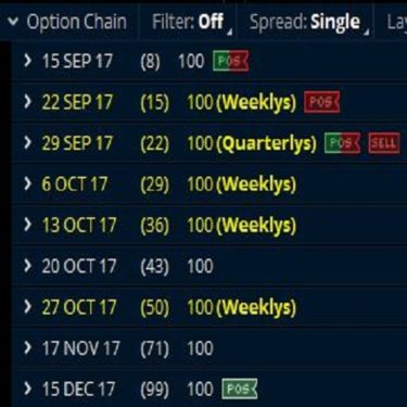 weekly options advisory