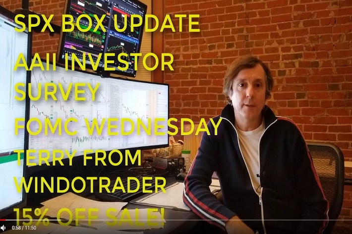 ShadowTrader Video Weekly 12.16.18 – SPX Box Breakout, AAII Investor Survey, FOMC Monster Truck Rally, ST Holiday Sale